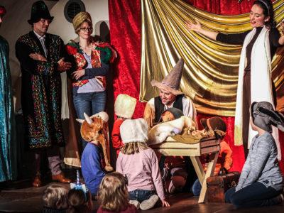 Die Weihnachtsgeschichte — Mitspieltheater